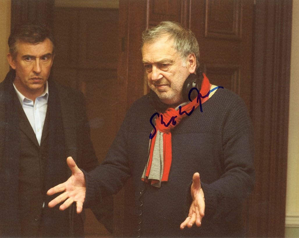 Stephen Frears Signed Photo