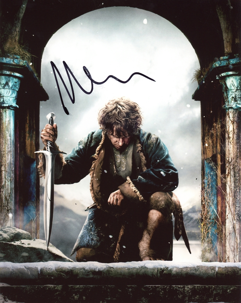 Martin Freeman Signed Photo