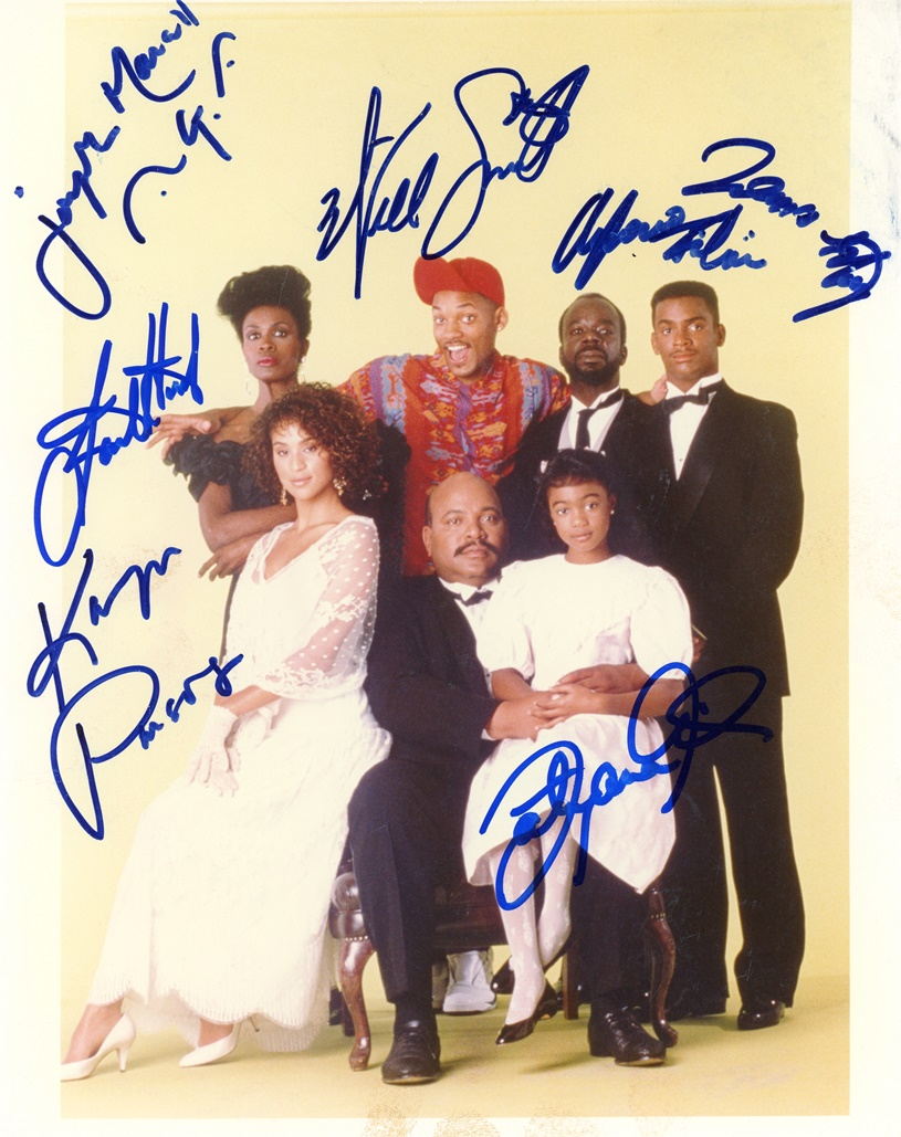 The Fresh Prince of Bel-Air Signed Photo