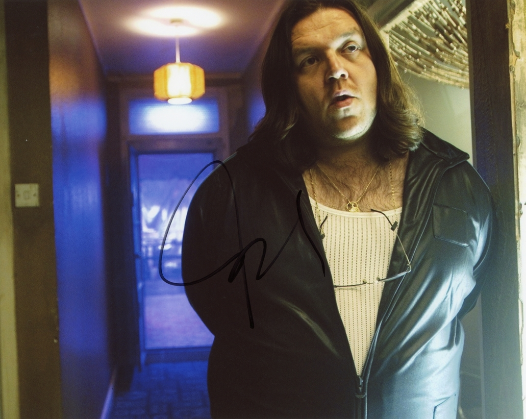 Nick Frost Signed Photo