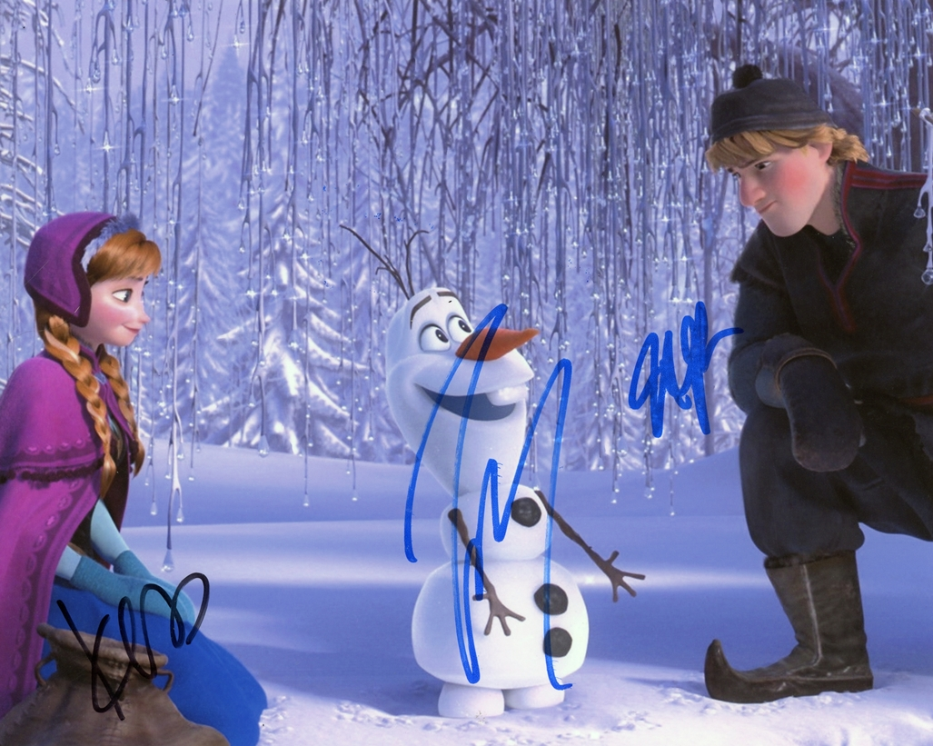 Frozen Signed Photo