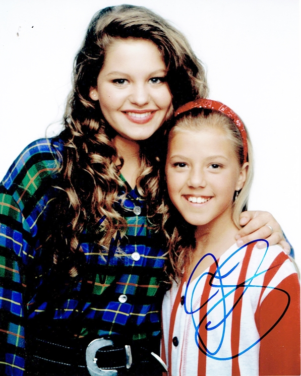 Candance Cameron & Jodie Sweetin Signed Photo