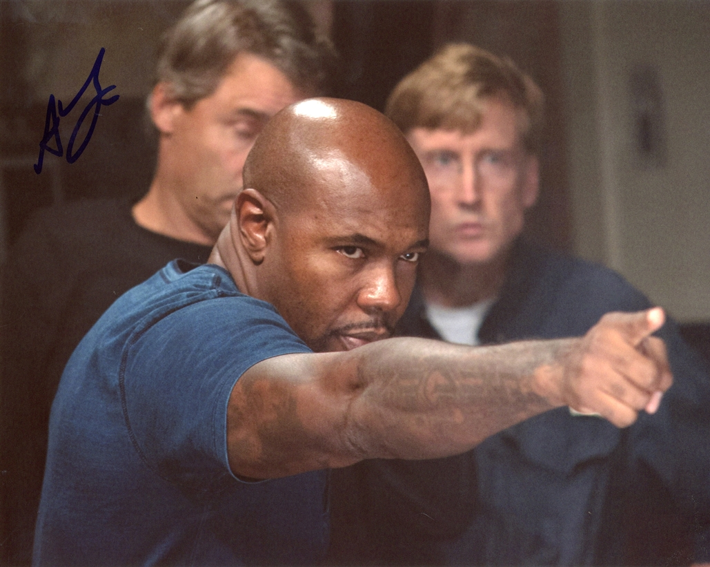 Antoine Fuqua Signed Photo