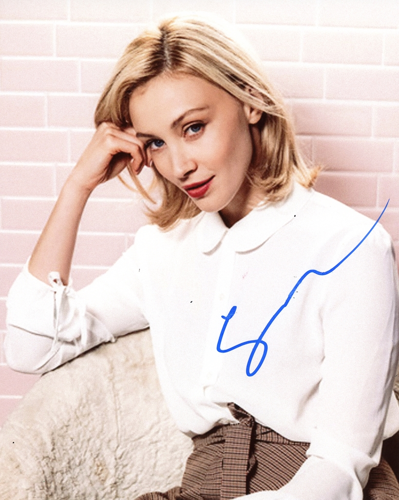 Sarah Gadon Signed Photo