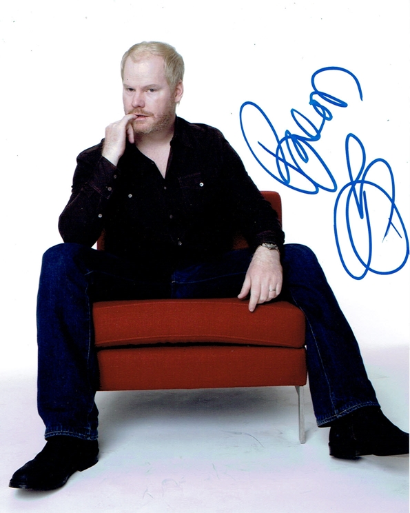 Jim Gaffigan Signed Photo