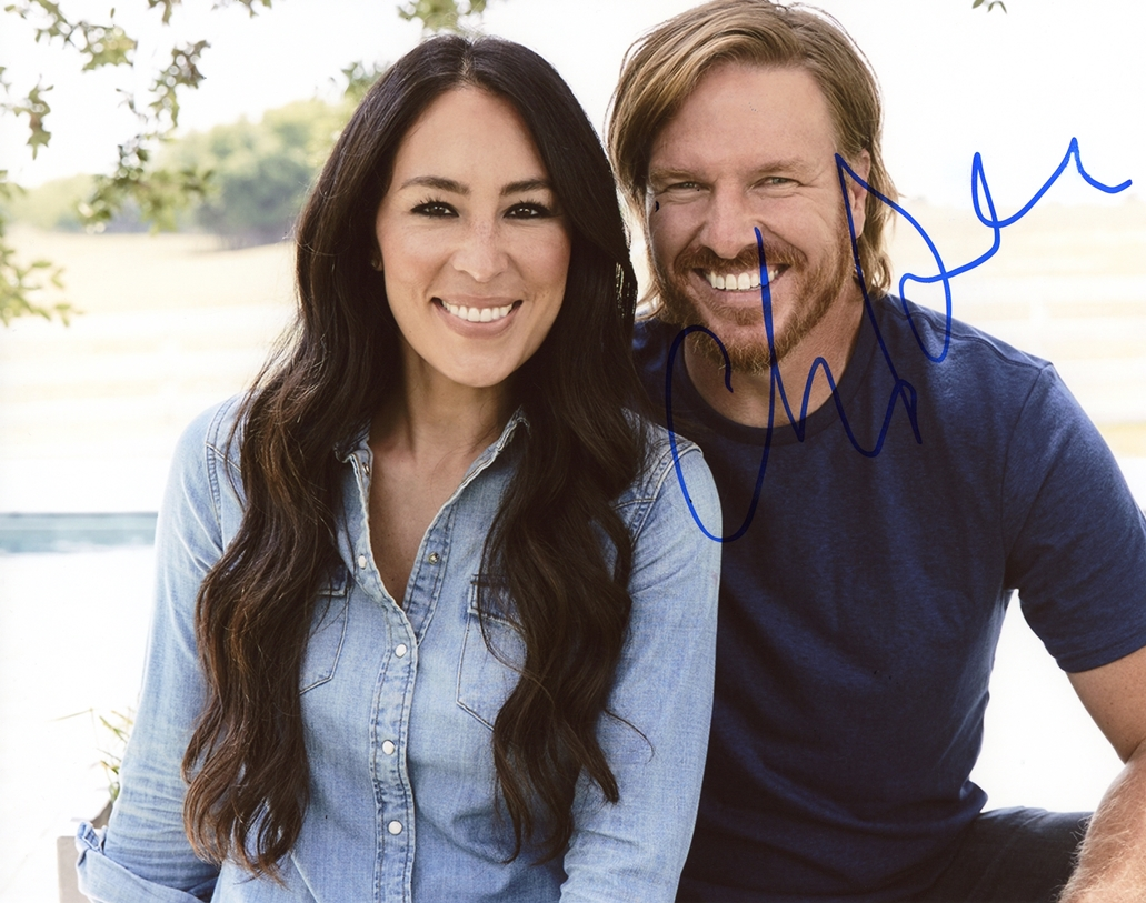 Chip Gaines Signed Photo