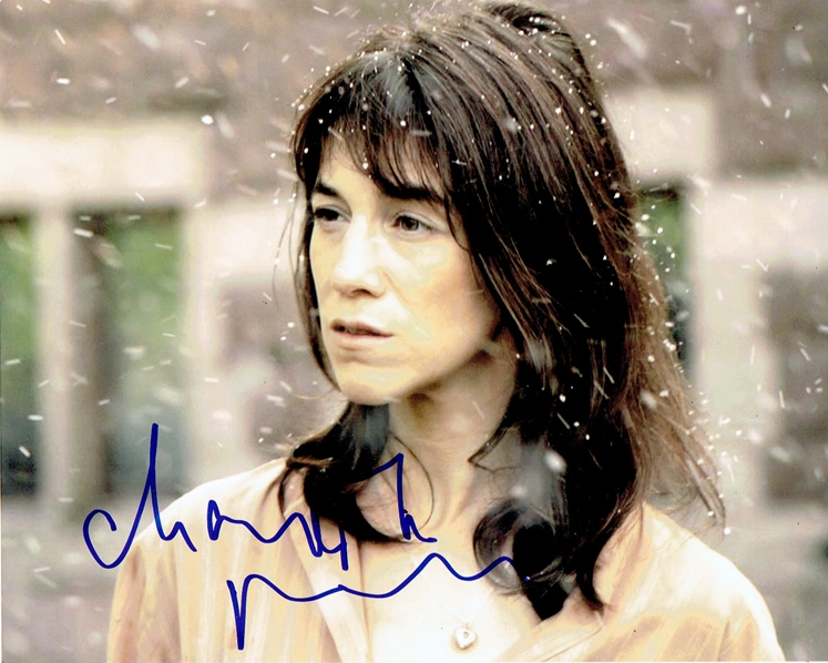Charlotte Gainsbourg Signed Photo