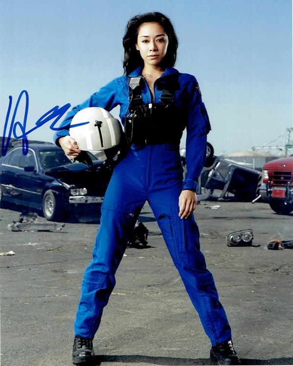 Aimee Garcia Signed Photo