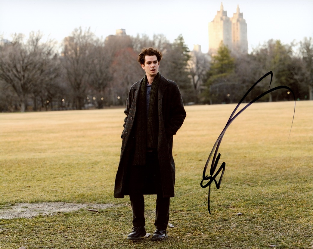Andrew Garfield Signed Photo