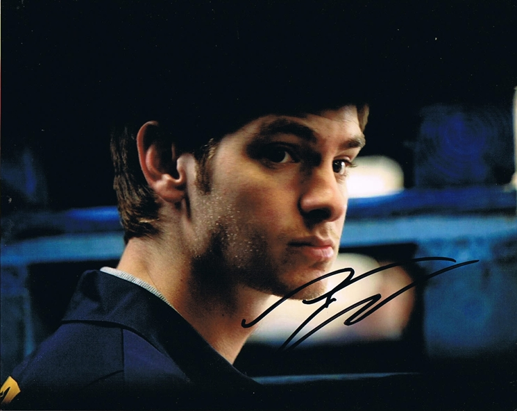 Andrew Garfield Signed Photo