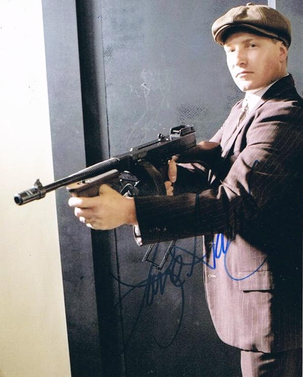 Lane Garrison Signed Photo