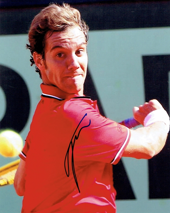 Richard Gasquet Signed Photo