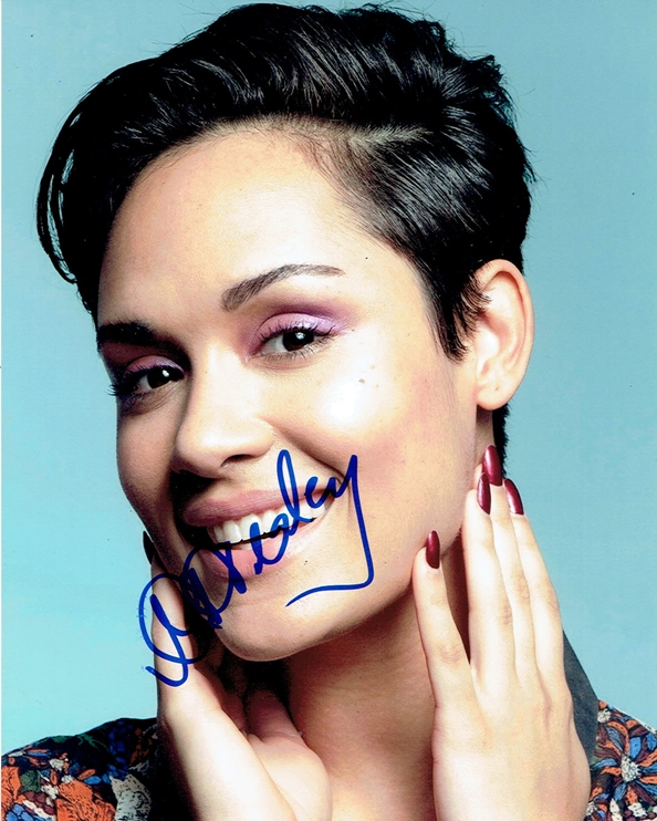 Grace Gealey Signed Photo