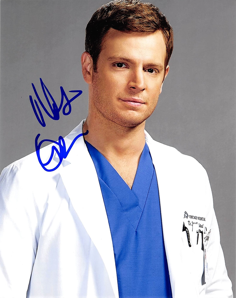 Nick Gehlfuss Signed Photo
