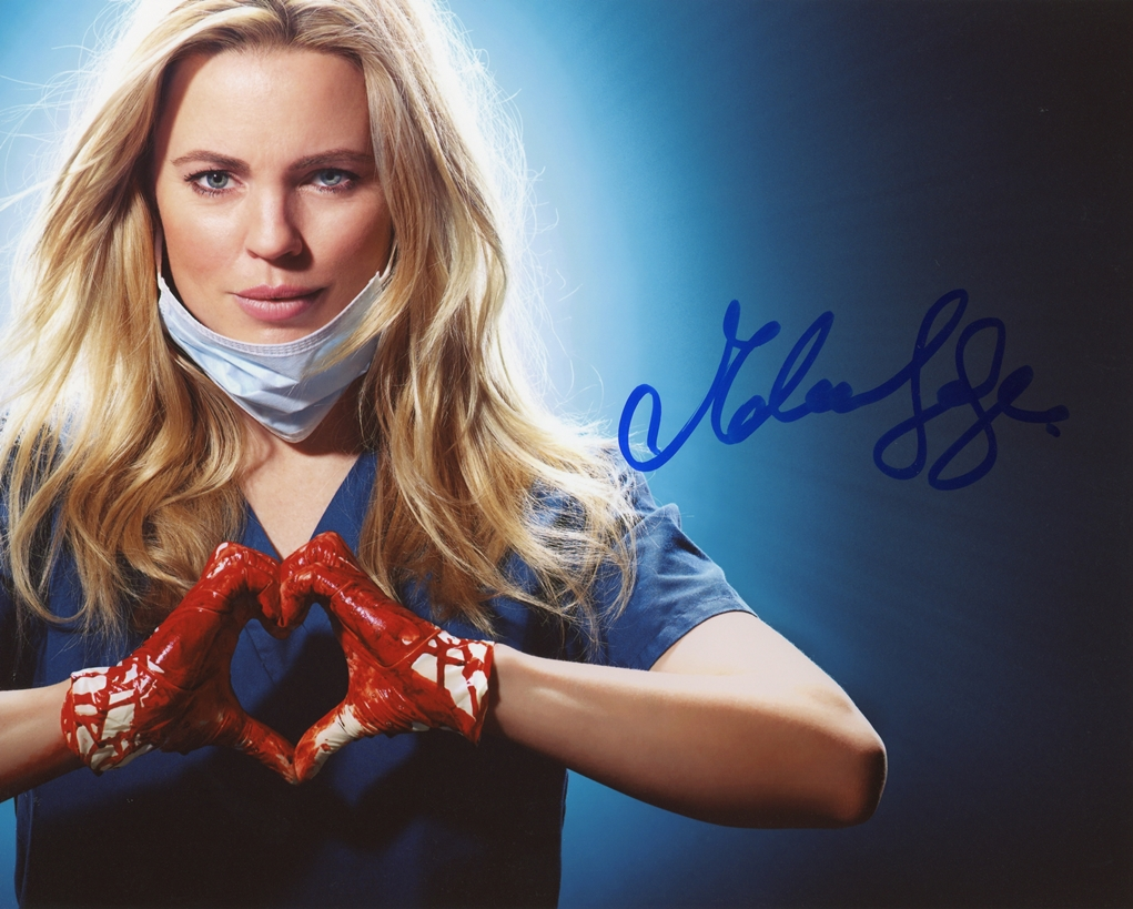 Melissa George Signed Photo