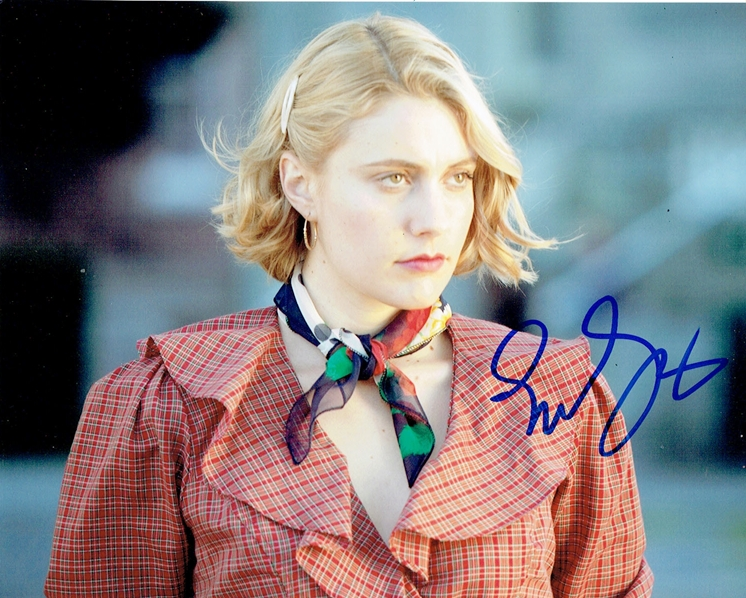 Greta Gerwig Signed Photo