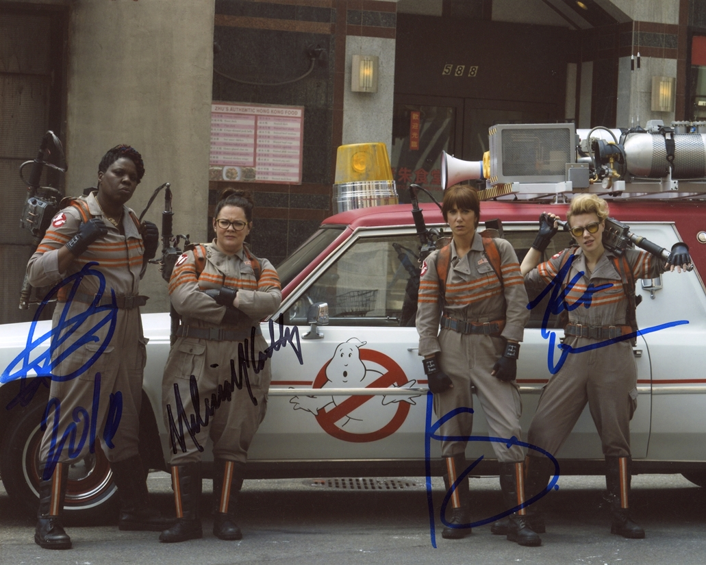 Ghostbusters Signed Photo