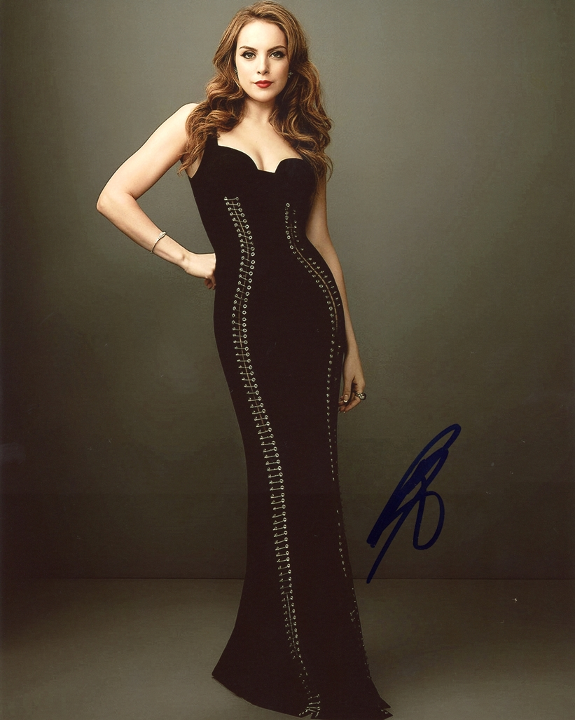 Elizabeth Gillies Signed Photo