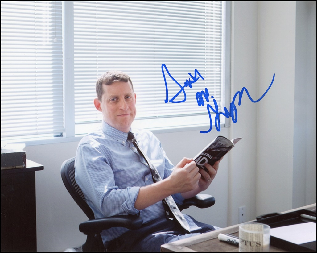 Scott M. Gimple Signed Photo