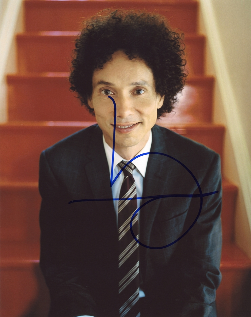 Malcolm Gladwell Signed Photo