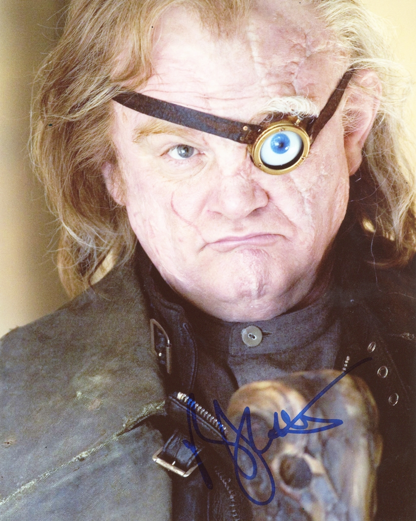 Brendan Gleeson Signed Photo
