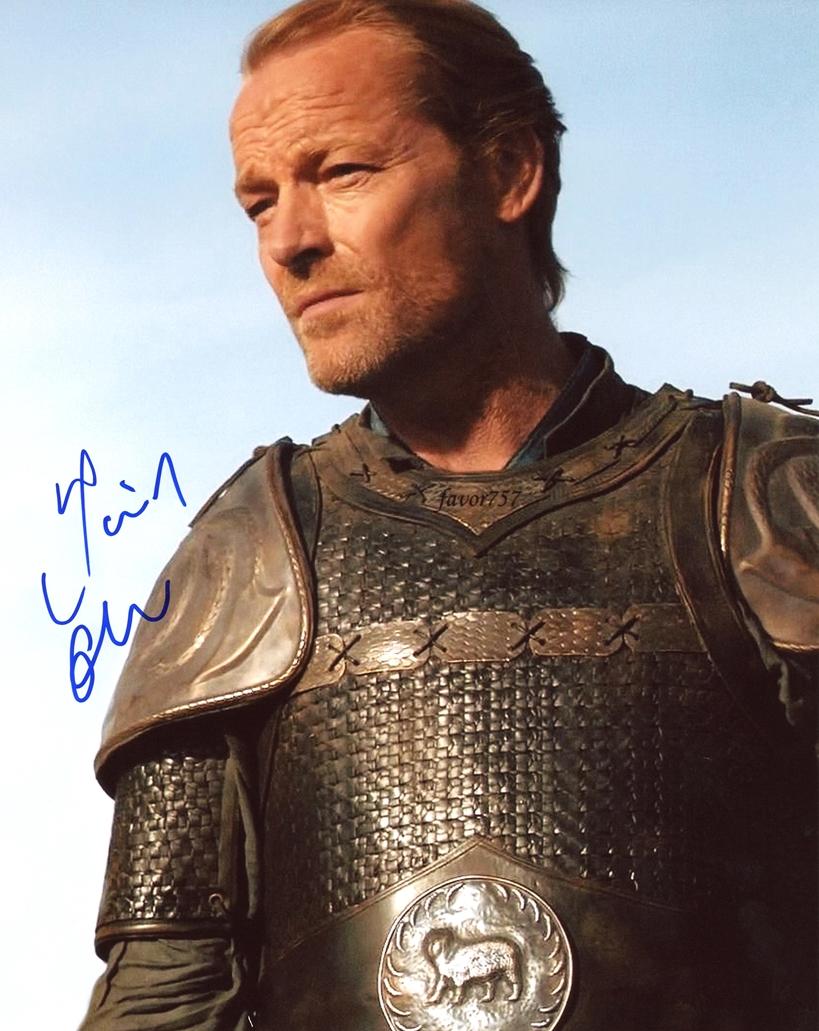 Iain Glen Signed Photo