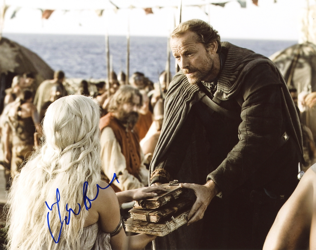 Iain Glen Signed Photo