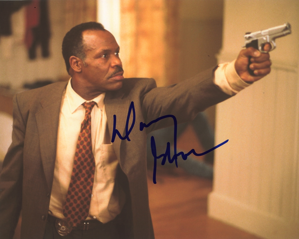 Danny Glover Signed Photo