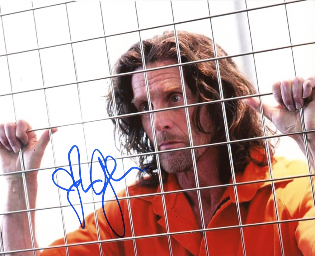 John Glover Signed Photo