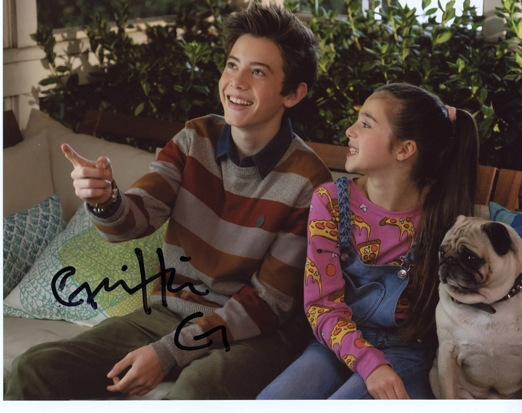 Griffin Gluck Signed Photo