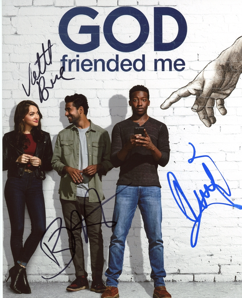 God Friended Me Signed Photo