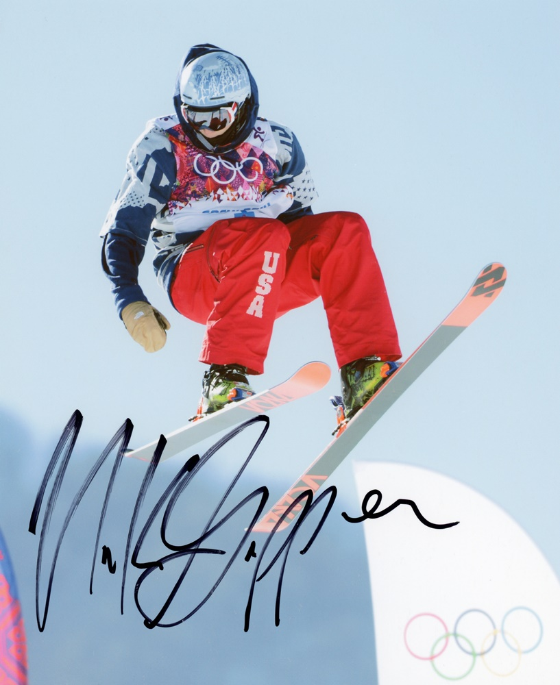 Nick Goepper Signed Photo
