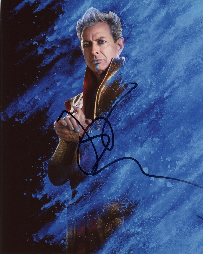 Jeff Goldblum Signed Photo