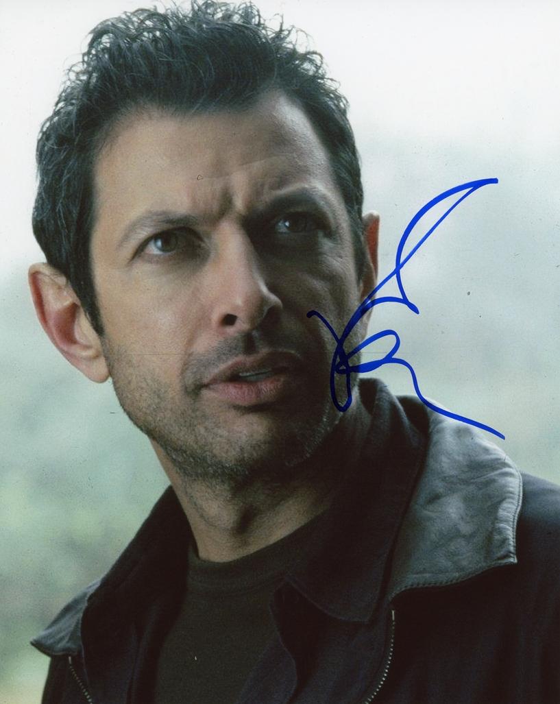 Jeff Goldblum Signed Photo