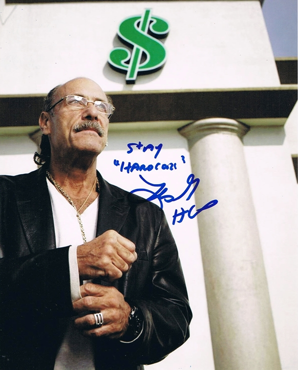 Les Gold Signed Photo