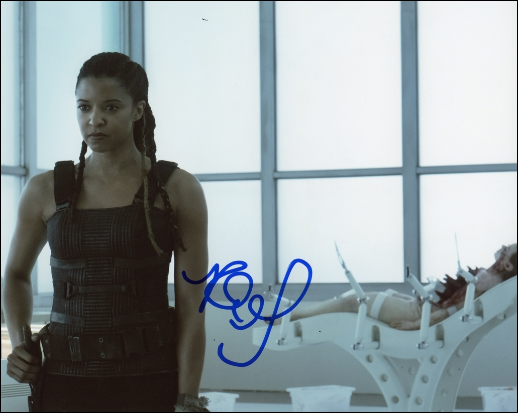 Renee Elise Goldsberry Signed Photo