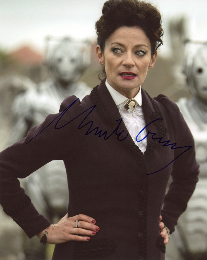 Michelle Gomez Signed Photo