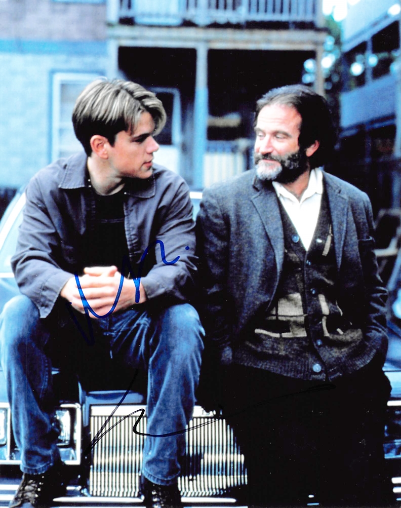 Good Will Hunting Signed Photo