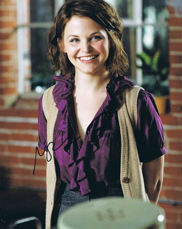 Ginnifer Goodwin Signed Photo