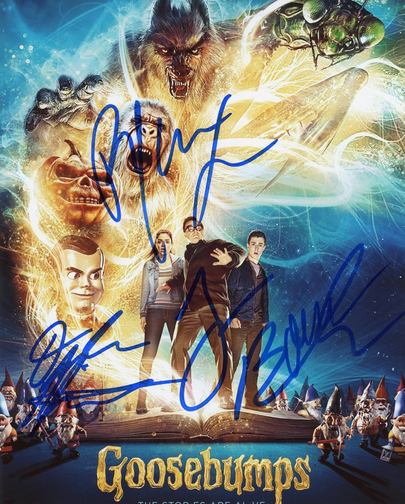 Goosebumps Signed Photo