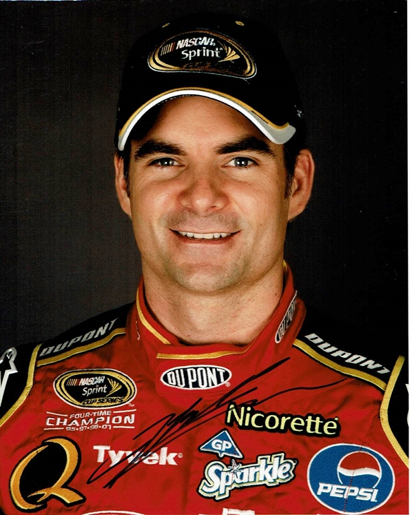 Jeff Gordon Signed Photo