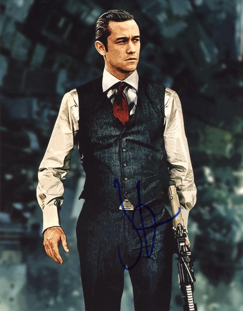 Joseph Gordon-Levitt Signed Photo
