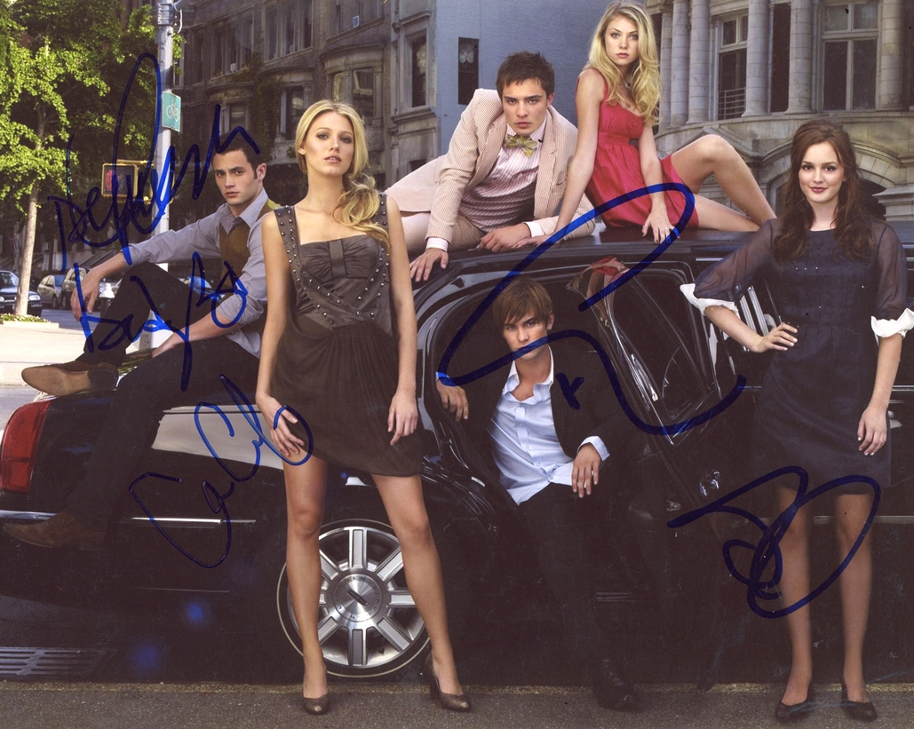 Gossip Girl Signed Photo