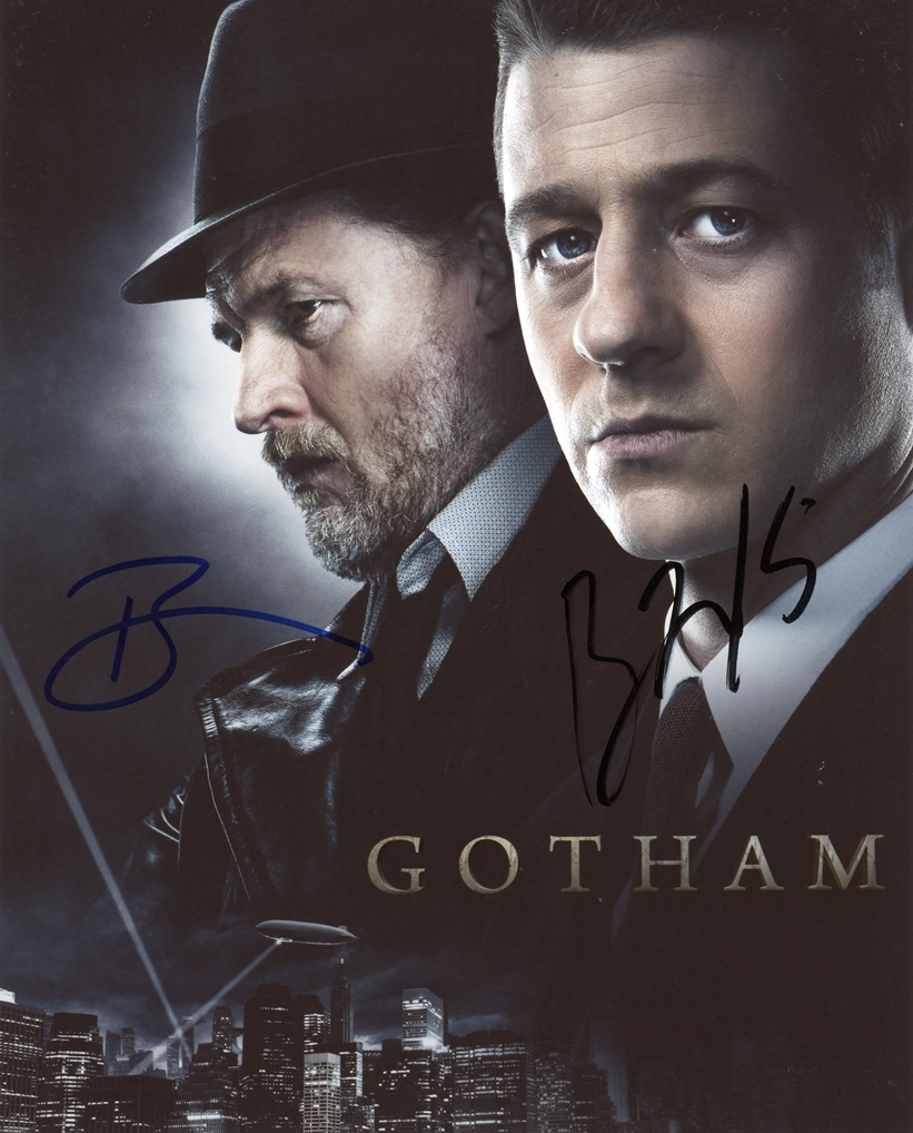 Ben McKenzie & Donal Logue Signed Photo