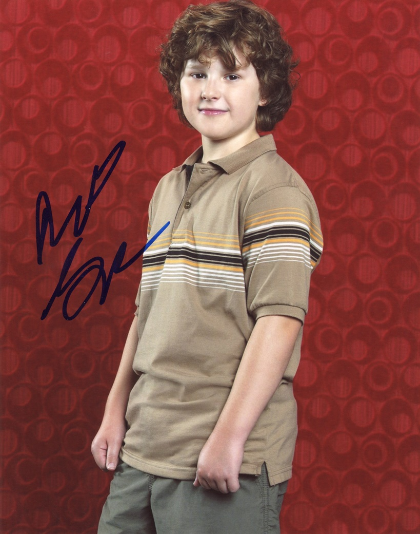 Nolan Gould Signed Photo