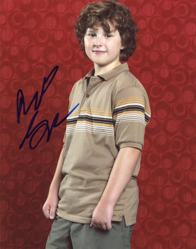 Nolan Gould Signed Photo