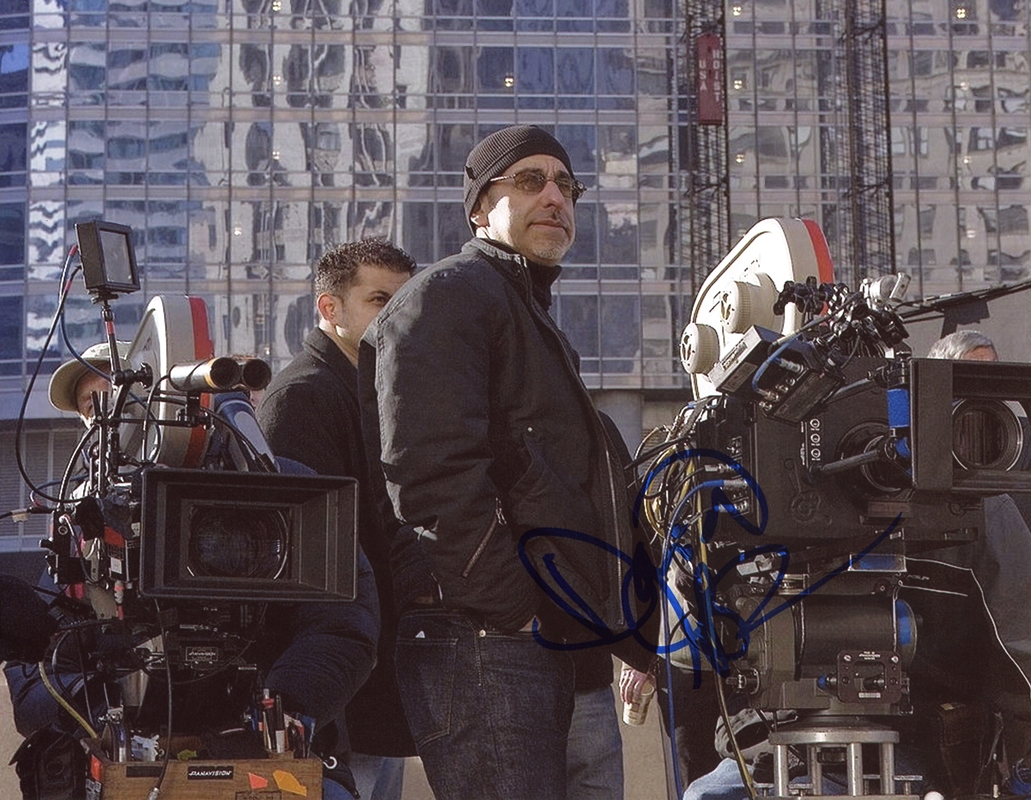 David S. Goyer Signed Photo