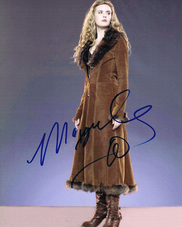 Maggie Grace Signed Photo