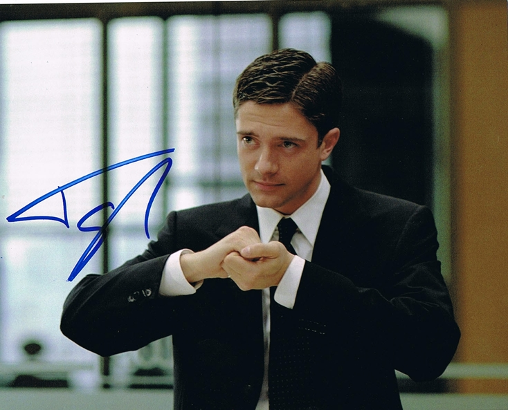 Topher Grace Signed Photo