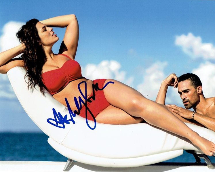 Ashley Graham Signed Photo